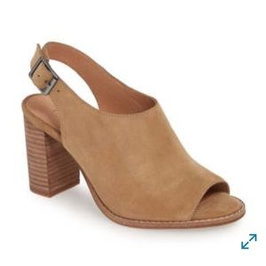 NWT - Madewell Cary Sandal in Suede -  8